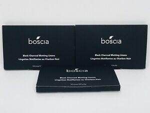 Boscia Black Charcoal Blotting Linens (3x100 sheets)- Cruelty-Free
