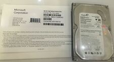 Brand Sealed Microsoft Windows 10 Pro Professional 64bit DVD & Product Key & PC