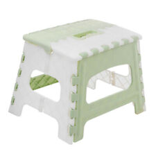 Plastic Folding Step Stool with Handle Portable Collapsible Small Foot Stool for