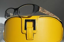 DG READING GLASSES OPTICAL QUALITY GREY POWER: +2.00 + YELLOW CASE *18