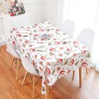 Chic Fabric Tablecloth Rectangular Table Runner Home Creative Christmas Decor G