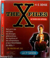 THE X-FILES ¤ LA 3°SAISON ¤ LE GUIDE NON OFFICIEL ¤ 1997 hors-collection