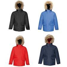 Kids Regatta Boys Girls Cadet Parka Coat Jacket