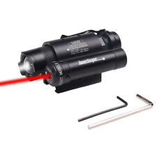 Combo Red Dot Laser Sight+Cree Flashlight Tactical Hunting For Glock Pistol