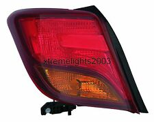 TOYOTA YARIS HATCHBACK 2015-2015 LEFT DRIVER TAILLIGHT TAIL LIGHT LAMP REAR NEW