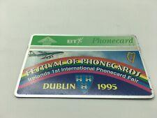 Festival Of Phonecards Ireland Dublin Bt Phonecard