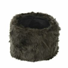 Mens Womens Ushanka Russian Hat Brown Faux Fur Cossack Winter Costume  Accessory 12be98a75d36