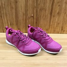 Vionic Kiara Slip Resistant Vio Grip Sneakers Fuschia Woman's Size 7 Wide**NEW**