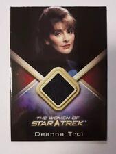 Rare Black WCC15 Deanna Troi Women of Star Trek 2010 Costume Card UK Sirtis