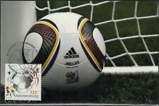 HUNGARY #4160, MAXIMUM CARD II - 2010 WORLD CUP of SOCCER in SOUTH AFRICA