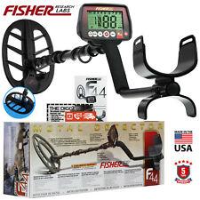 """Fisher F44 detector de metales con 11"""" DD Bobina de búsqueda resistente al agua y 5 Año De Garantía"""