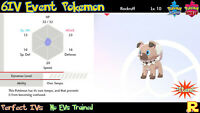 6IV EVENT OWN TEMPO ROCKRUFF (DUSK LYCANROC) ⚔️ 🛡 for Pokemon SWORD & SHIELD ⚔️
