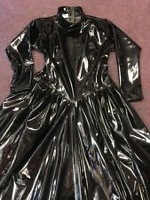 Misfitz black pvc mistress ballgown size 18 gothic goth TV cross dresser Fetish