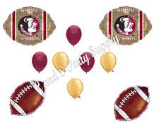FLORIDA STATE SEMINOLES FOOTBALL  Birthday party Balloons Decoration Supplies