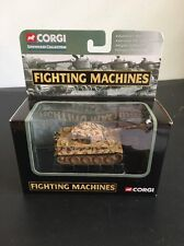 CORGI FIGHTING MACHINES M1 Tiger 1 PANZER Abeitlung 101 2004 CS90307 TANK