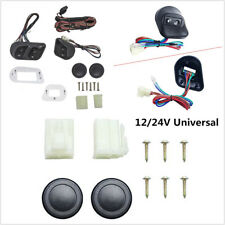 Universal 12V/24V Buttons SUV Car Power Window Switches With Holder&Wire Harness