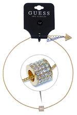 GUESS Kette Necklace Halskette Anhänger Gold Strass Beauty