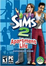 The Sims 2 Apartment Life PC Games Windows 10 8 7 XP Computer expansion pack