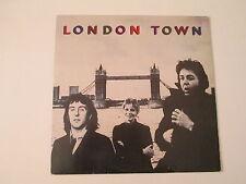 PRICE DROP!!PAUL MCCARTNEY/WINGS-LONDON TOWN-ULTRA RARE GERMAN IMPORT LP RECORD-