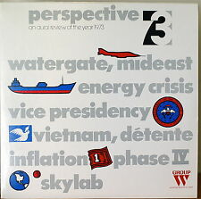 PERSPECTIVE 73: An Aural Review of the Year 1973-M1974 2LP NOT FOR SALE/BROADCAS