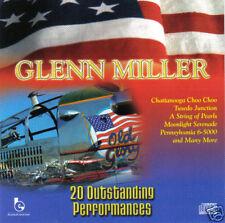 GLENN MILLER - 20 Outstanding Performances (UK 20 Tk CD Album)