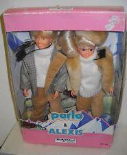 #4009 NRFB Vintage Delavennat Perle & Alexis Doll Giftset