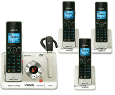 Vtech Voice ID Answering System 4 Cordless Phones & Headset LS6475-3 + 2 LS6405