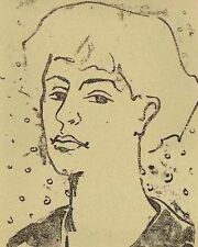 Mary-Heinz Fleischer - 1954 mano con firma origlithographie (pece pietra-prezzo)