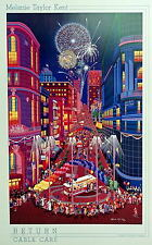 Melanie Taylor Kent Return of the Cable Cars Poster (Weston Graphics)