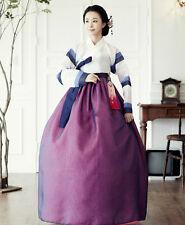 Hanbok Dress Custom Made Korean Traditional Woman Hanbok High Waist Hanbok