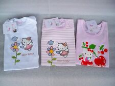 3 BODY BEBE BABY HELLO KITTY TG. 9/12 MESI