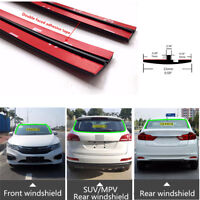 3M 9.84ft Universal Car Front Rear Windshield Roof Edge Strip Waterproof Rubber