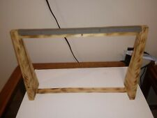 Wooden Jewelry Display Holder Stand Pendulum Hanger Rack Display Stand Showcase