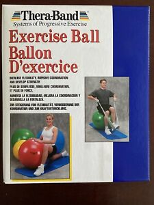 Thera-Band Systems Of Progressive Exercise Ball Yellow,  Green