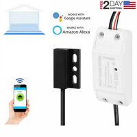 Smart WiFi Garage Door Opener Controller, Smartphone Alexa Google Home