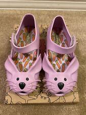 Mini melissa toddler girl size 8 - Rabbit BB