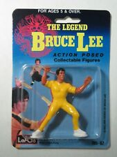 1986 LarGo Toys 785-67 The Legend Bruce Lee Action Posed Collectible figure NIP