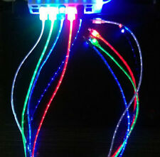 led light-up color usb data sync charger power charge cable for iphone 6 5s 5c 5