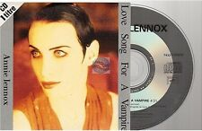 ANNIE LENNOX love song for a vampire CD SINGLE 1 titre !! french card sleeve