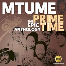 "MTUME - PRIME TIME - THE EPIC ANTHOLOGY 2017 REMASTERED 2CD 12"" MIXES !"