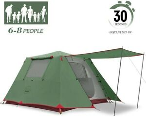 KAZOO Family Tent Large Waterproof Instant Pop Up Tents 4/6 Person Room Cabin