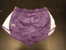 Bill Rodgers Mens Purple/White Running Shorts /Built-in Briefs, Size XXL w/logo