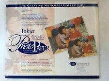 NEW Creative Memories INKJET PHOTO PAPER