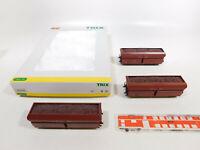 CO313-1# Trix H0/DC 31356 Set Selbstentladewagen Erz IIId DB NEM KKK, s.g.+OVP
