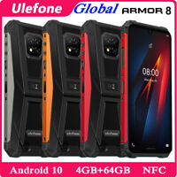 Ulefone Armor 8 Rugged Cell Phone Unlocked 4G Android 64GB Octa Core Smartphone
