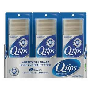 Q-tips Cotton Swabs 1875ct FREE SHIPPING!!!