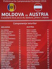 Flyer LS 9.10.2014 Moldawien Moldova - Österreich