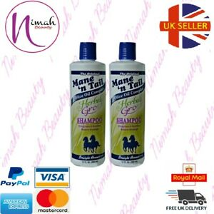 Mane 'N Tail Herbal Gro Shampoo and Conditioner 355 ml