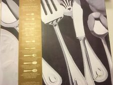 Lenox French Peale 65 pieces Flatware Set New in Box service for 12