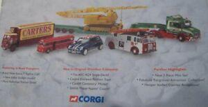 Catálogo Catalogue CORGI Reference Guide Collectors diecast